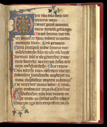 Psalter from the Hospital of St Giles f.110r